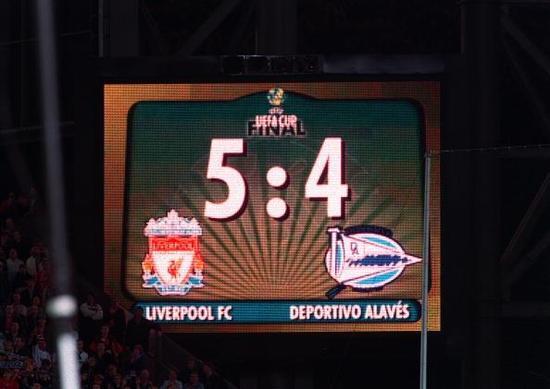 联盟杯不敌利物浦