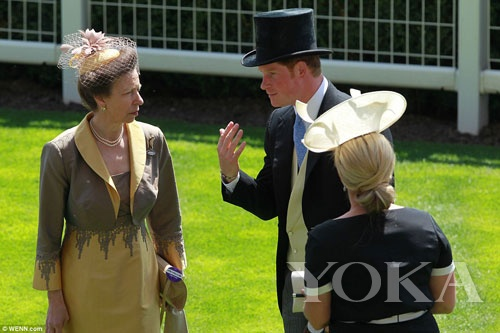 王室成员交流感情