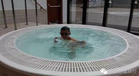 王润曦游泳提升体能