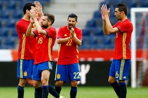 热身赛-巴萨旧将连场梅开二度 西班牙6-1胜韩国