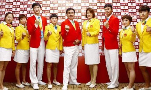 款式难看设计平庸的奥运礼服