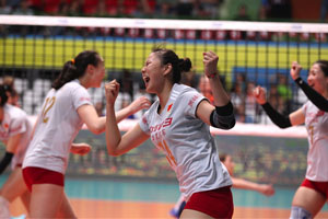 瑞士赛中国女排翻盘3-2挫荷兰 将与泰国争冠