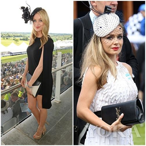 时尚潮人在去年Royal Ascot的优雅演绎