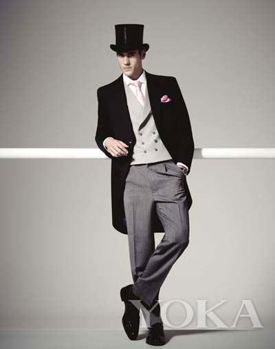 2014 Royal Ascot的男装指导规范,由英国老牌Moss Bros提供