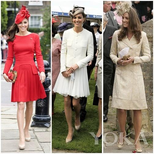 凯特王妃走的是优雅范儿