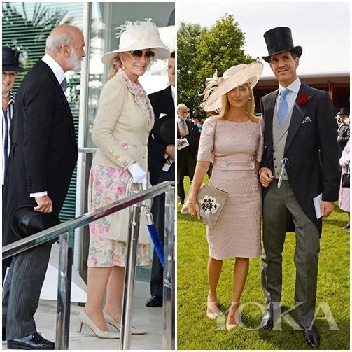 英国肯特公爵夫妇和希腊Pavlos王子与王妃都遵循了传统礼仪