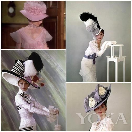 奥黛丽赫本的各种经典淑女Look全是Givenchy一手打造