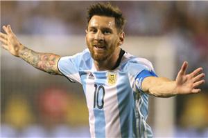 美洲杯-梅西替补戴帽阿圭罗破门 阿根廷5-0大胜