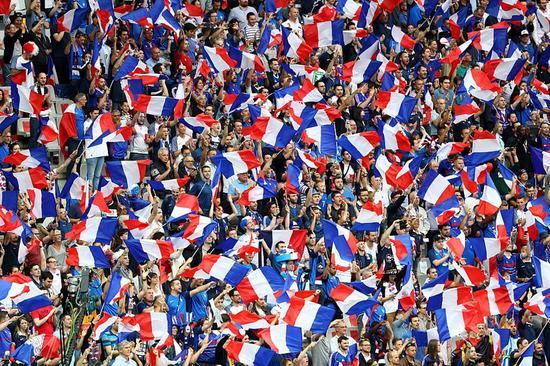 法国球迷看台