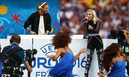 DJ格塔与女歌手莎拉·拉尔森演绎主题歌