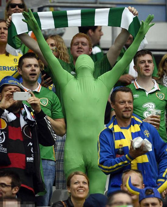 爱尔兰球迷