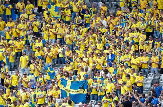 瑞典球迷看台