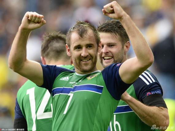 3D进球-北爱尔兰秀细腻配合 麦吉恩补时锁定胜局