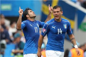 欧洲杯-国米射手88分绝杀 意大利1-0提前出线