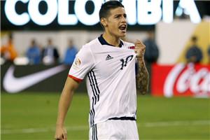 美洲杯-J罗中柱枪手门将扑点 哥伦比亚4-2进4强