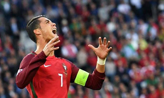 欧洲杯-C罗点球不进葡萄牙痛失3分 出线形势严峻