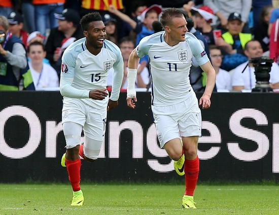 斯图里奇和瓦尔迪在对威尔士的竞赛中为英格兰立功