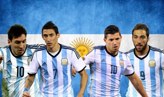 阿根廷的阵容豪华