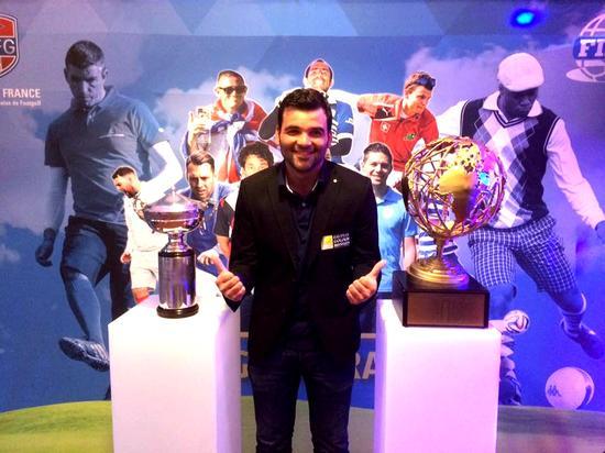 第二届法国足球高尔夫冠军