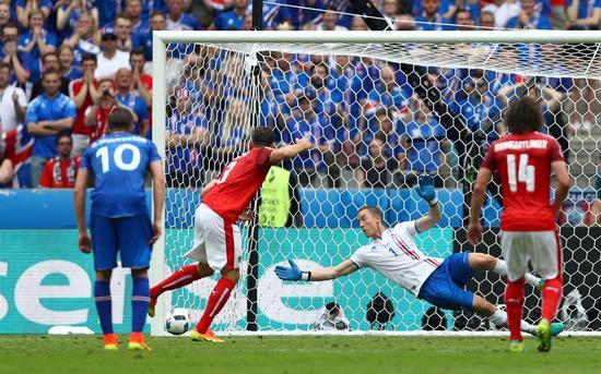 欧洲杯-冰岛94分钟绝杀2-1奥地利 将战英格兰