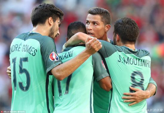 葡萄牙小组赛三战全平