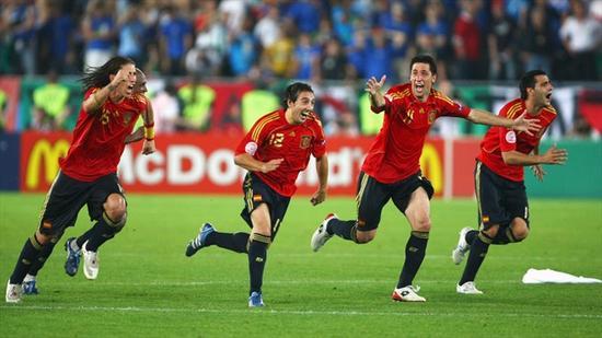 2008年欧洲杯,西班牙点杀意大利
