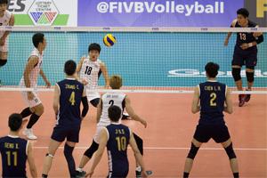 世界男排联赛中国3-1逆转韩国 打破十年不胜魔咒