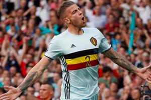 欧洲杯-阿扎尔94秒传射丁丁2助攻 比利时4-0胜