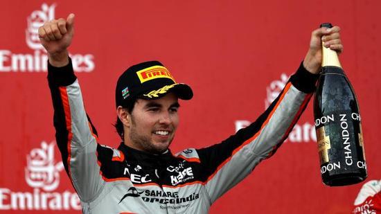 墨西哥车手佩雷兹本赛季表现抢眼