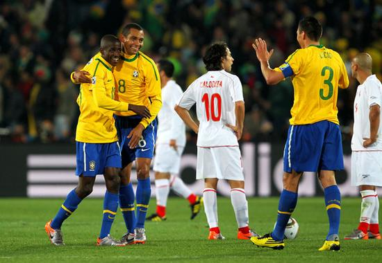 2010年世界杯被巴西淘汰