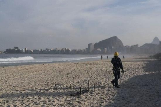 出事的海滩