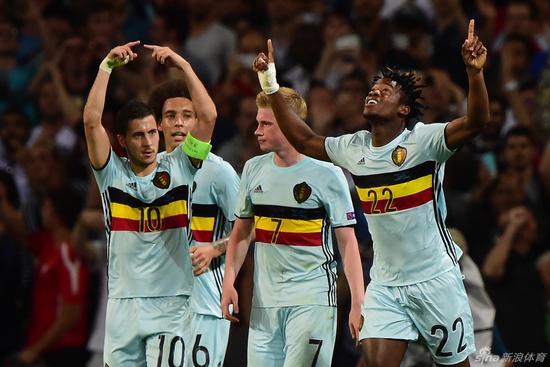 比利时曾经获得三连胜