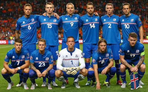 冰岛国家队的赞助商是意大利著名运动品牌errea
