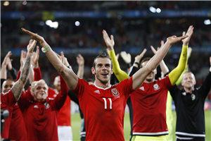 欧洲杯-拉姆塞2助 威尔士连扳3球3-1逆转比利时