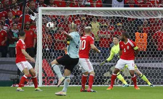 欧洲杯-威尔士3-1逆转比利时晋级