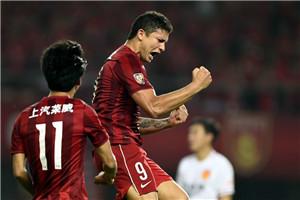 中超-埃神破2个月球荒 上港2-0华夏终结5轮不胜