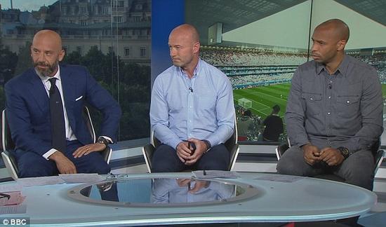 亨利做客BBC节目,对扎扎和佩莱的点球进行了批评