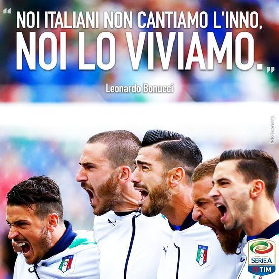 永远被轻视这支球队,因为他们叫意大利