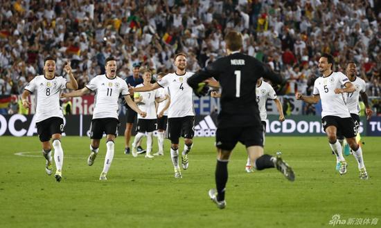 德国苦战淘汰意大利