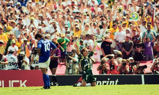 94世界杯巴乔令人心碎的背影