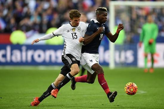 去年在巴黎的热身赛后,德法又将交锋