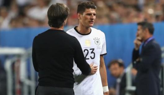 戈麦斯的缺席对于德国队是巨大的损失