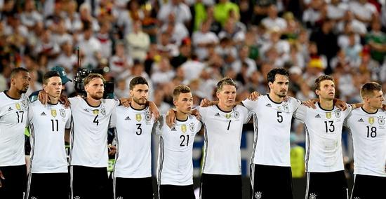德国队全队等待点球大战