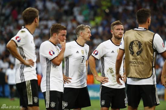 德国队输给了伤病
