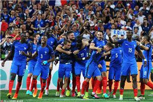 欧洲杯-神锋2球小猪送点 法国2-0德国杀进决赛