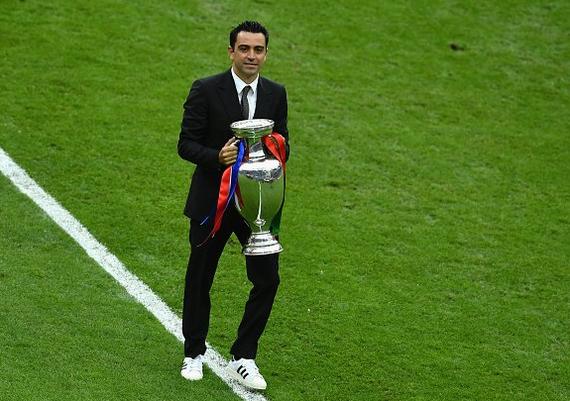 欧洲杯决赛又见一代大师 他离开带走一个王朝