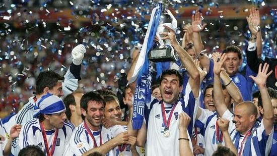 """欧洲杯""""希腊神话""""和希腊式踢法"""