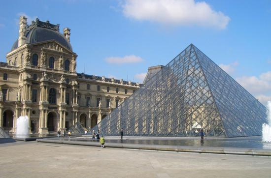 卢浮宫没去成