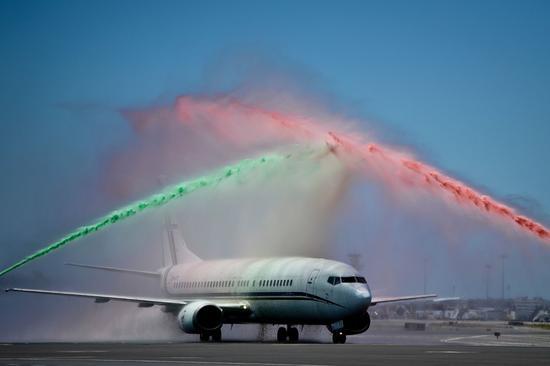 机场迎接葡萄牙