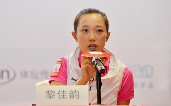 高尔夫前国家队队长黎佳韵